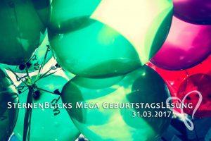 SternenBlicks Mega Geburtstagslesung